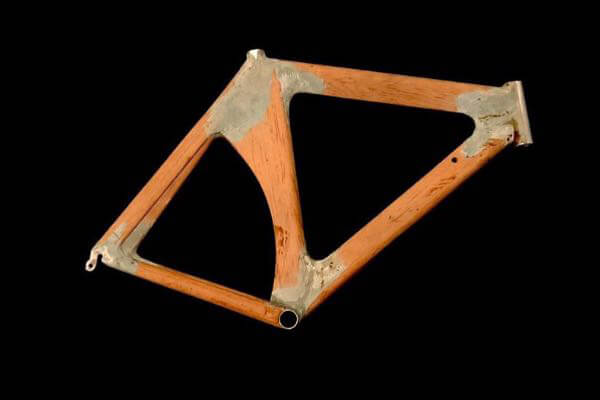 Photo of first Kestrel frame to ever be built
